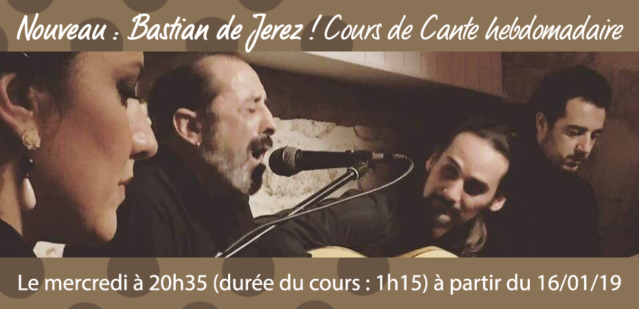 Cours de chant flamenco à Paris